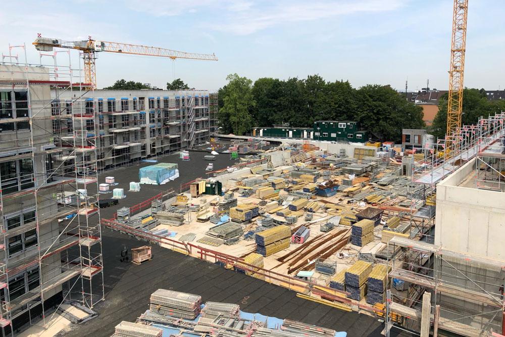 Baustelle Cranachhöfe Essen